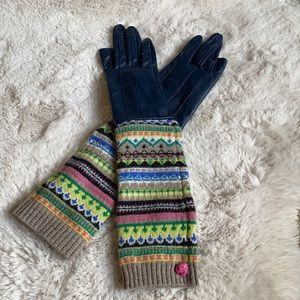 Juicy Couture leather gloves